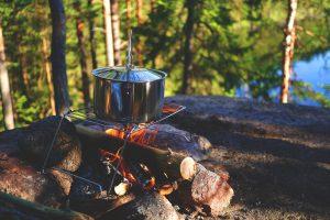 Campingfeuer